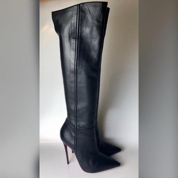 8c97de079411 Christian Louboutin Shoes   Louboutin Armurabotta Overtheknee Boots ...